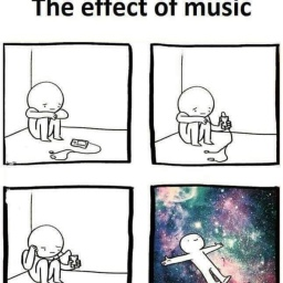 The effect of Music